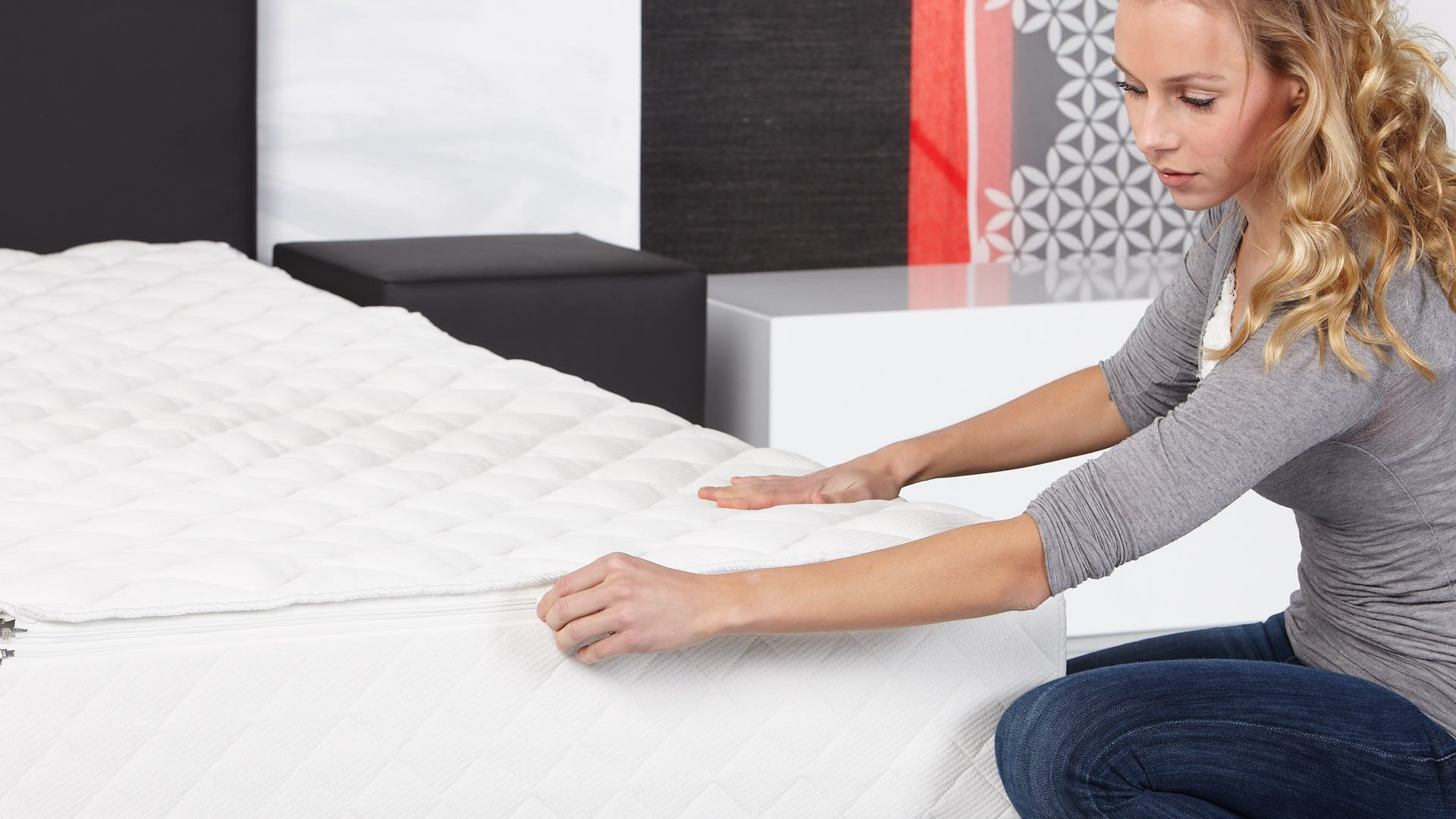 Extra Wasserbett-Bezugsdeckel für längere Gebrauchsdauer