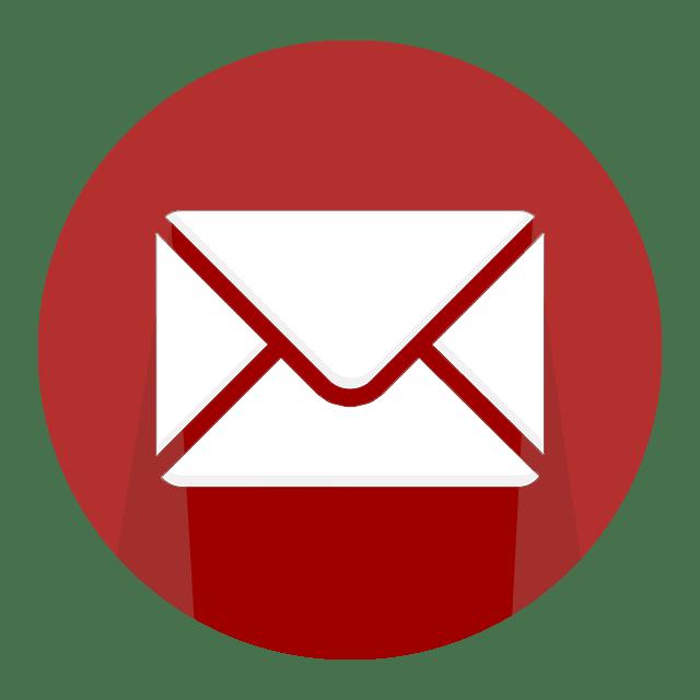 Schicken Sie eine E-Mail an