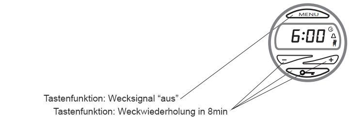 weckerfunktion carbon digital heizung
